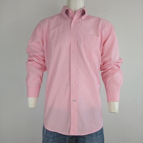 2b83720a Tommy Hilfiger pink long sleeve men's dress shirt.  M_5aa05fbf50687c6eba45c2c3